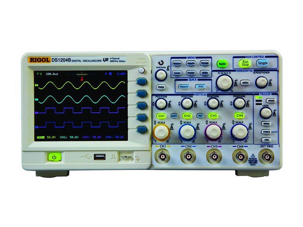 Using A Digital Oscilloscope : Rigol ds b mhz digital oscilloscope channel