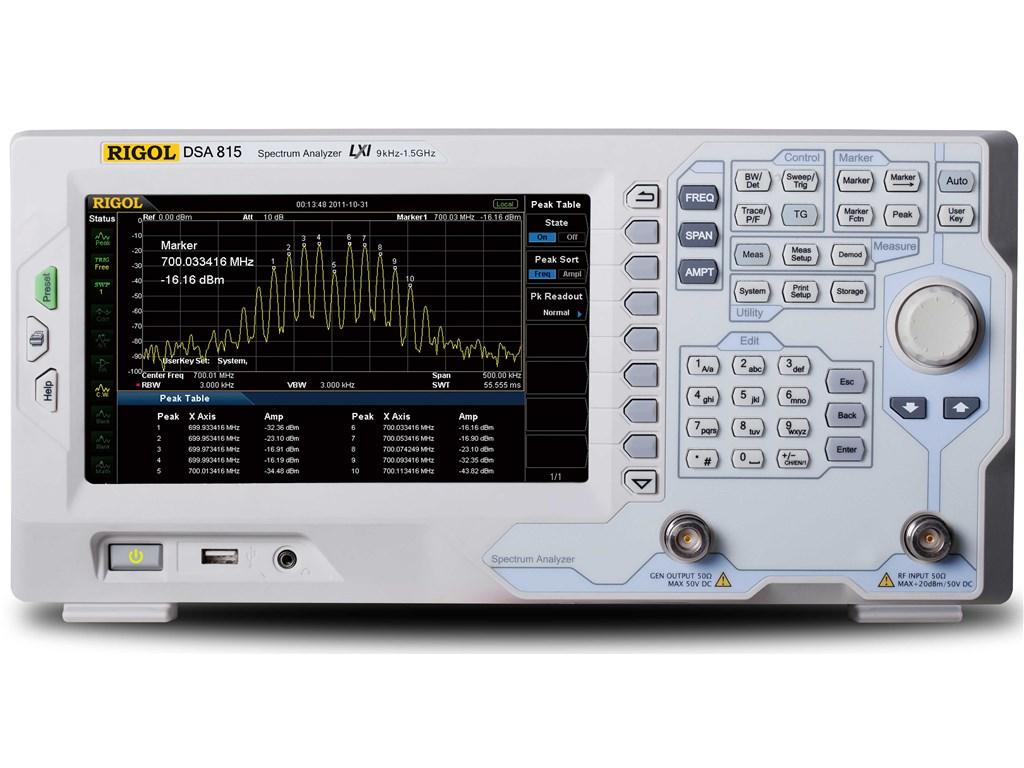 DSA815-TG Spectrum Analyzers