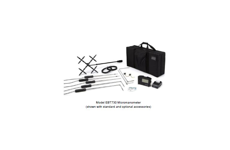 tsi ebt730 alnor micromanometer