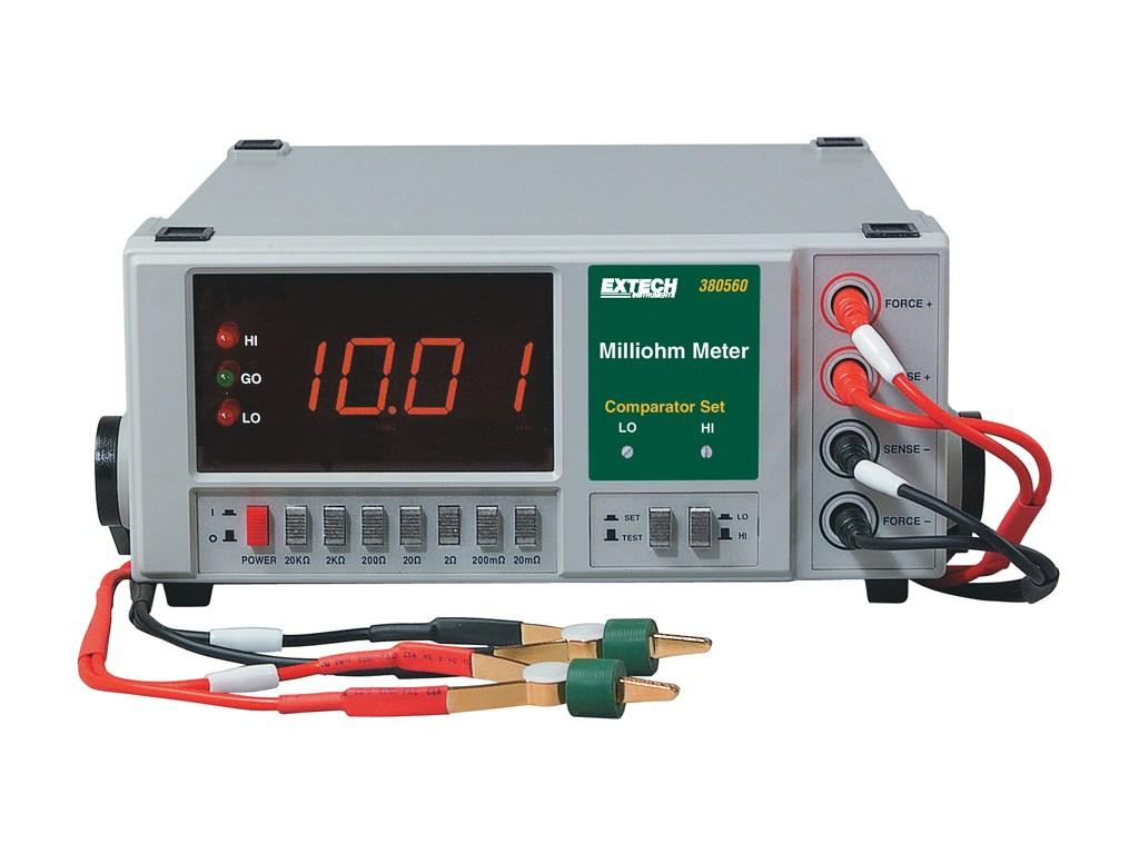 Extech 380560 110V Precision Milliohm Meter