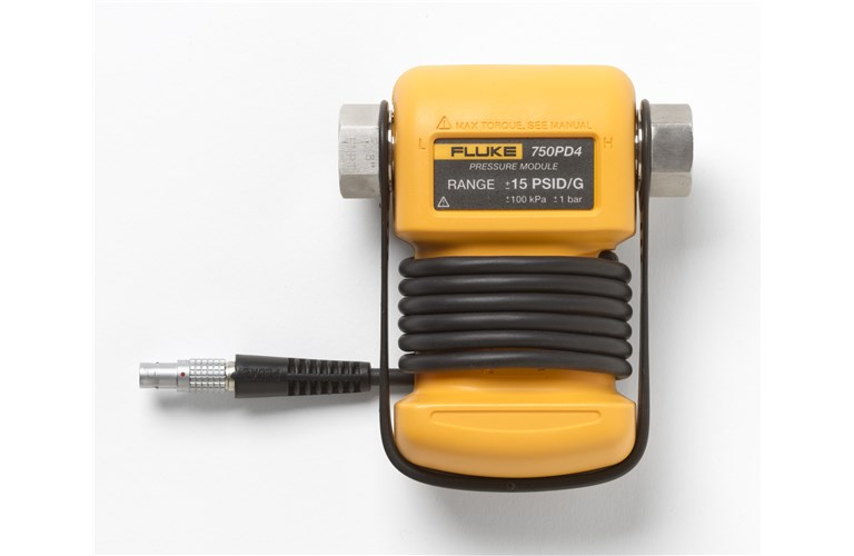 Fluke 750P2000 Pressure Calibrator Modules - Multi-Function Modules: No, Pressure (Draft): Yes, Resolution (pressure): 2000 psi