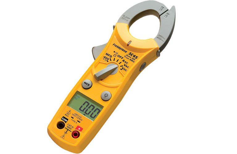 The Best Hvac Clamp Meter : Fieldpiece sc mini clamp meter with temperature for hvac