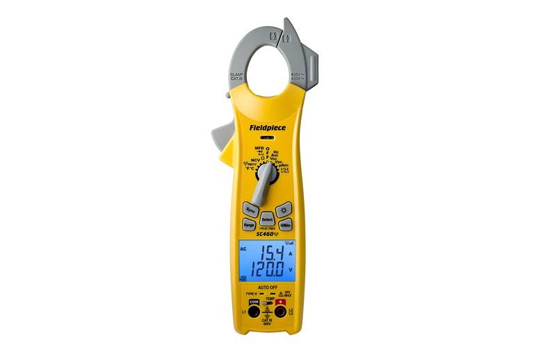 Clamp Meter How Much : Fieldpiece sc ess wireless clamp meter tequipment