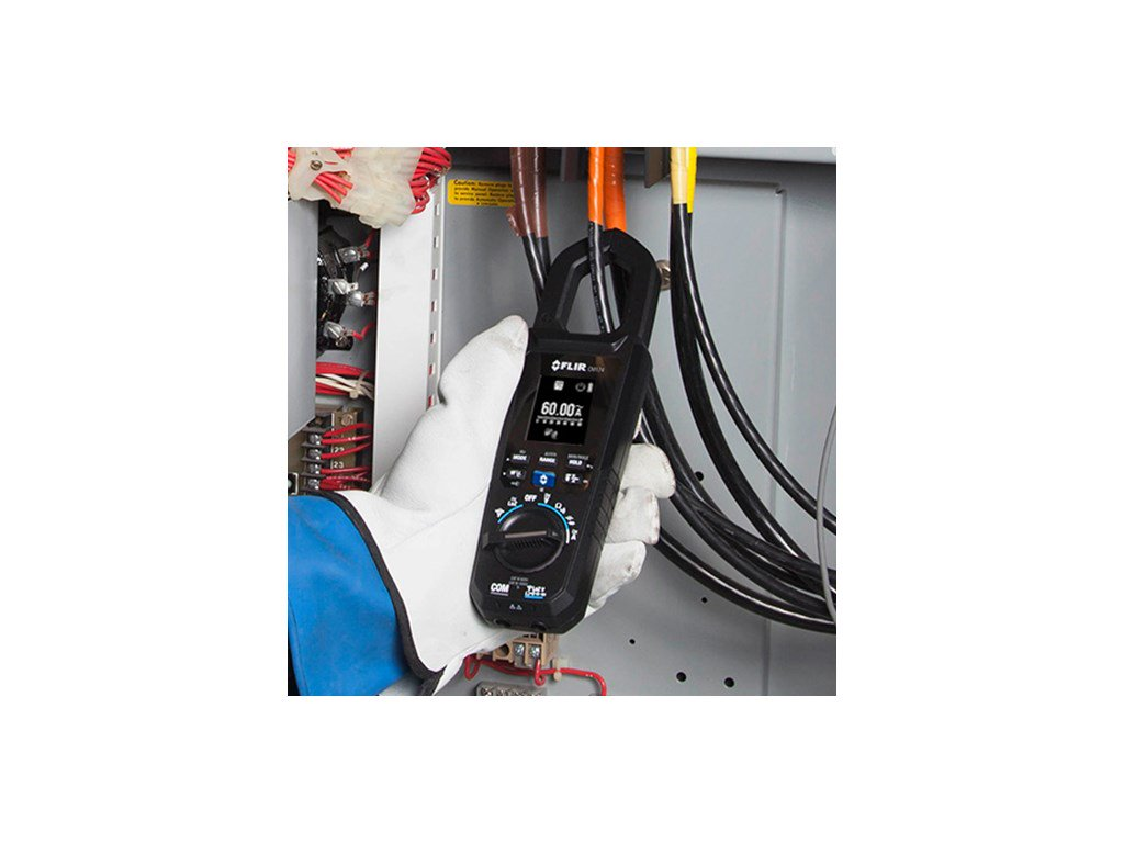 Flir Cm174 Clamp Meter With Built In Thermal Imager 9hz Wiring Devices Meiji Electric Philippines Electrical Supplier Zoom Video