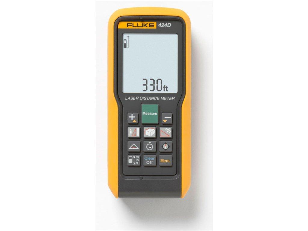 Fluke 424d Laser Distance Meter 100 M 100m Simple Fm Transmitter