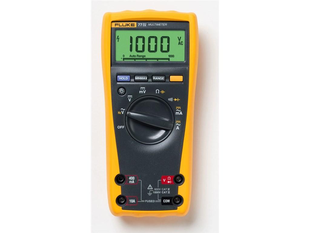 fluke 77 4 digital multimeter tequipment net rh tequipment net fluke 77 2 manual Fluke Multimeter 77 Series I1