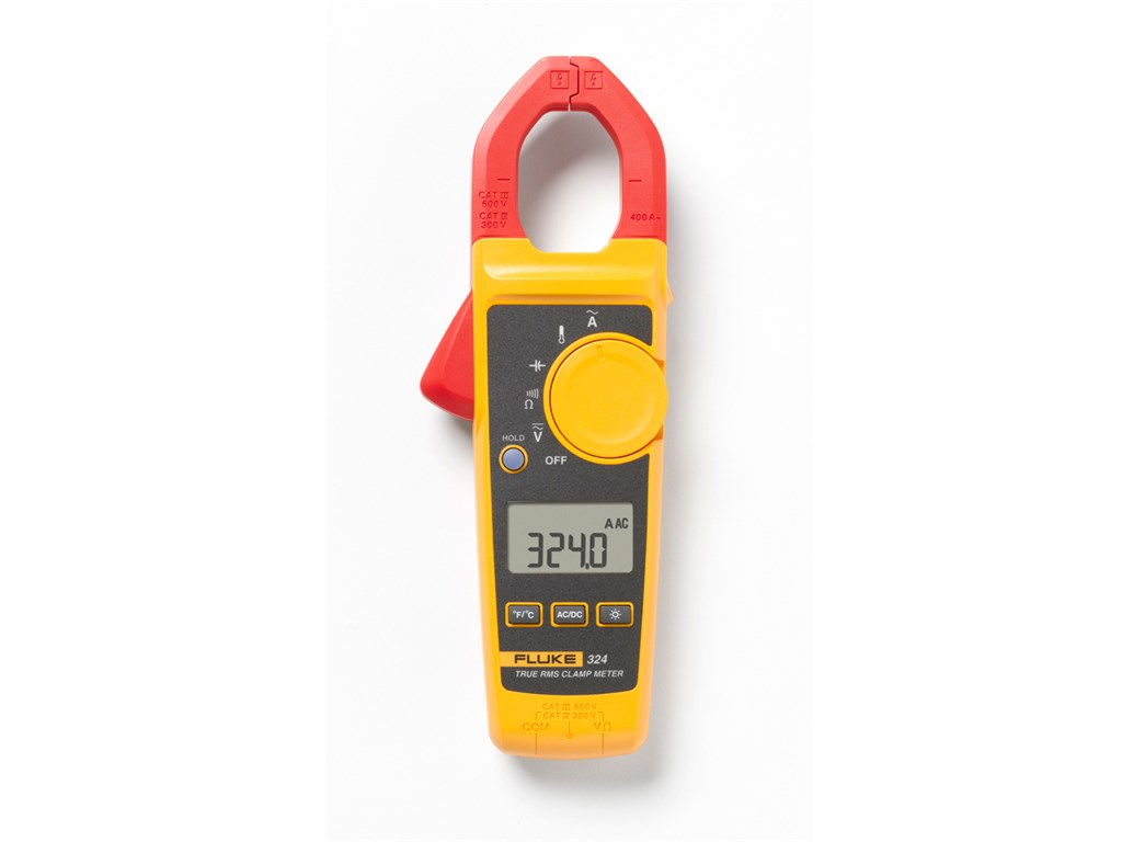 Fluke 324 400A AC TRUE RMS Clamp Meter with temp