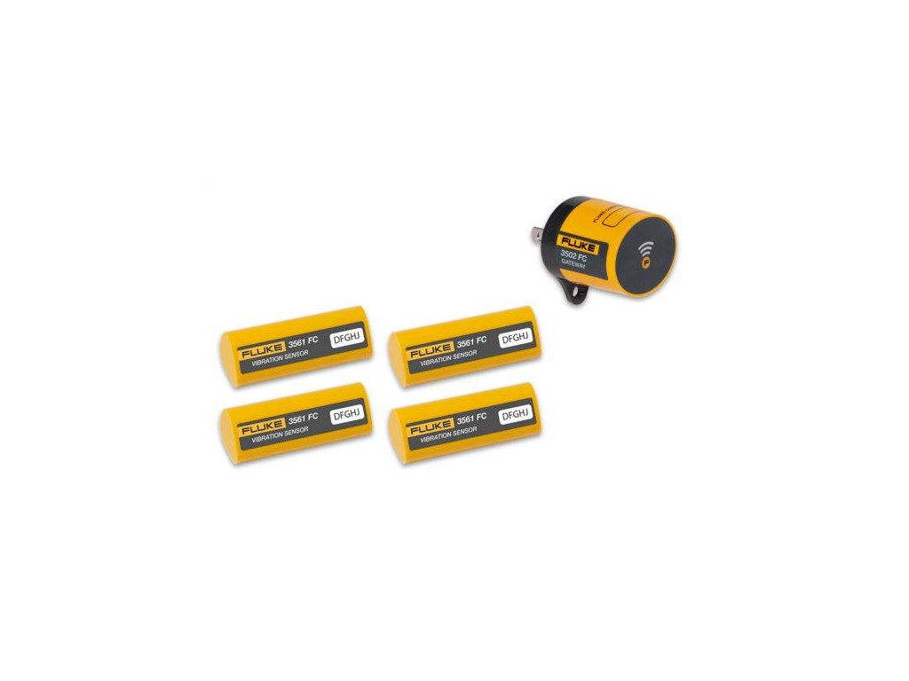 Fluke 3561 3502 Fc Vibration Sensor Starter Kit Santronics Ac Dc Voltage Detectors Quickly Test For Energized Circuits Zoom Video