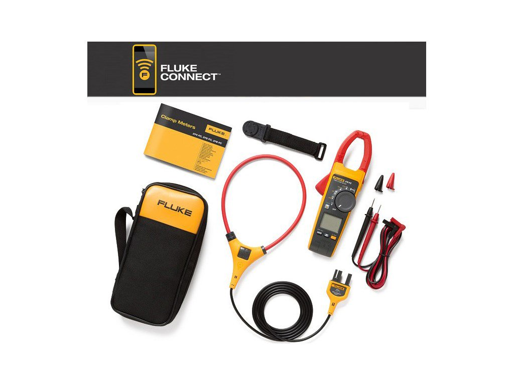 Clamp Meter Accessories : Fluke fc a ac dc true rms wireless clamp meter