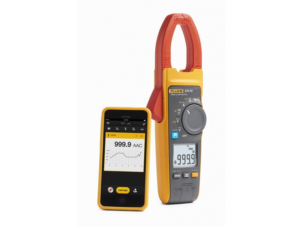 Ac Dc Clamp Meter Fluke : Fluke fc a ac dc true rms wireless clamp meter