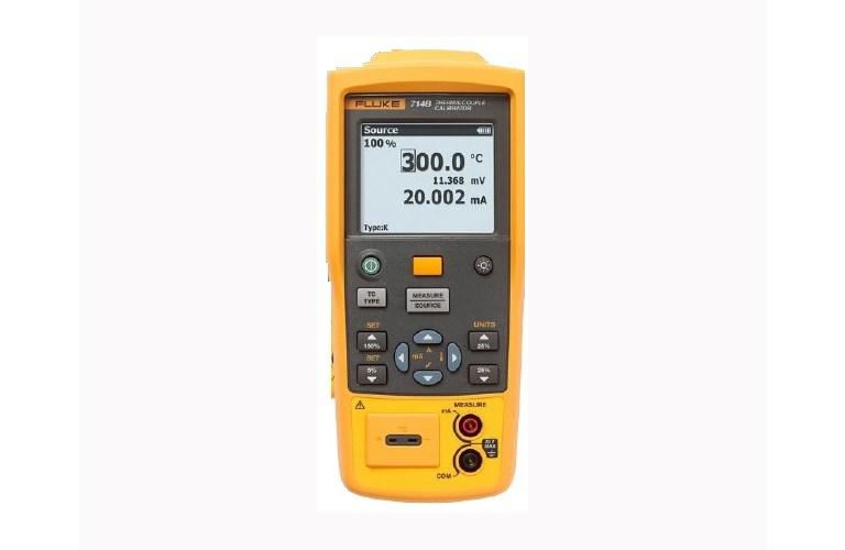 Fluke 714 thermocouple calibrator | maybo.