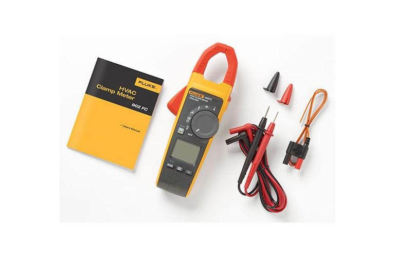 The Best Hvac Clamp Meter : Fluke fc true rms wireless hvac clamp meter