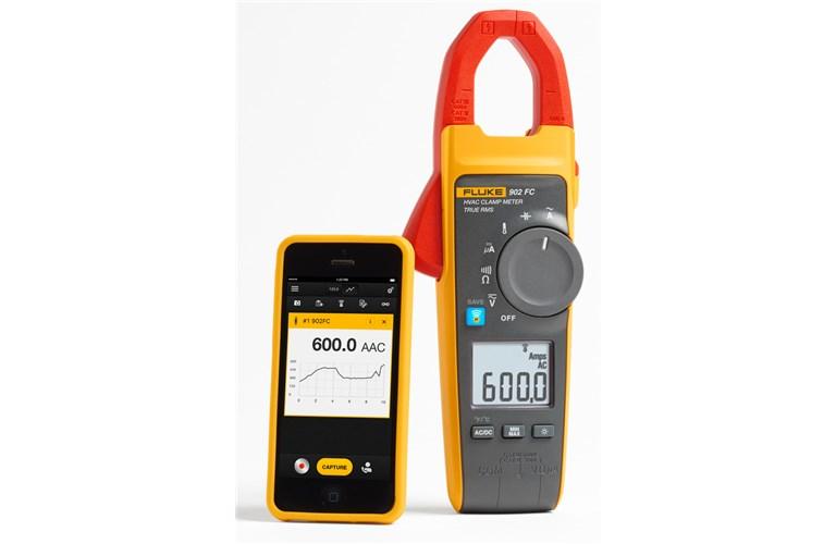 Fluke 902 True Rms Hvac Clamp Meter : Fluke fc true rms wireless hvac clamp meter
