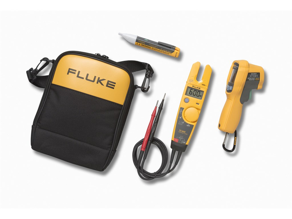 Fluke T5 600 62max 1ac Kit Voltage Current Tester Handheld Non Contact Meter 901000 Volts Cable Circuit Testers Zoom 360 Video