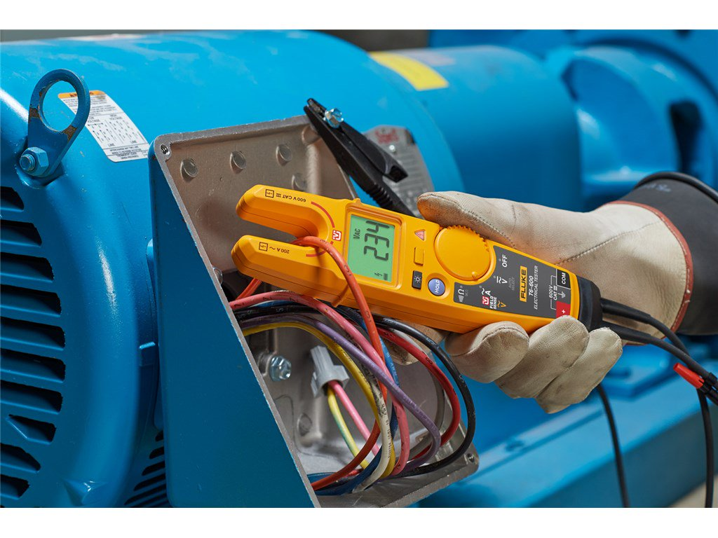 Fluke T6 600 Electrical Tester With Fieldsense Continuity Circuit Alarm Or Testers Zoom Video