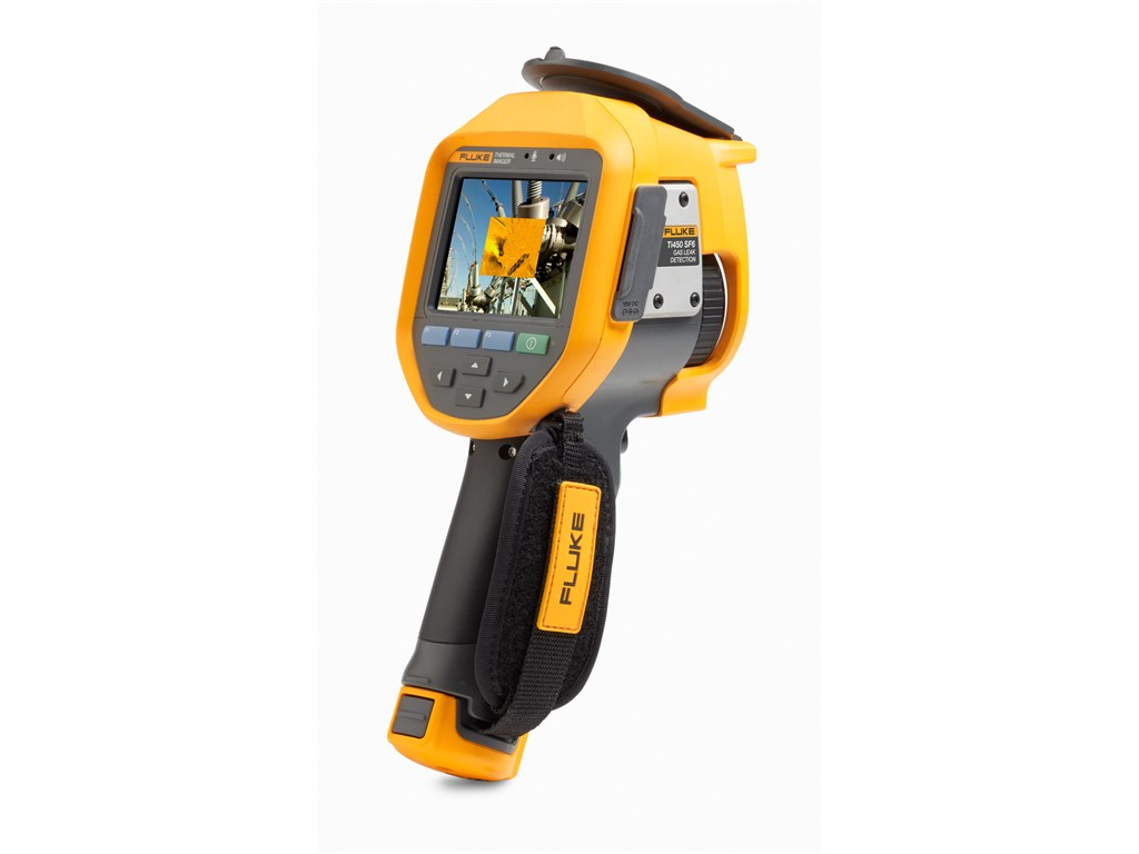 Fluke Ti450 Sf6 Gas Detector And Thermal Camera