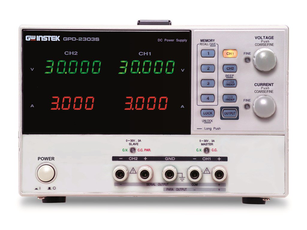 Instek Gpd 2303s Dc Power Supplies 2 Channels 180w Programmable The Button For A Crocodile Technology C Simulation Of This Circuit Zoom