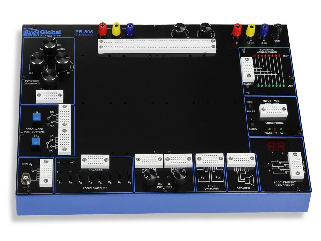 Pb507 Advanced Analog Digital Electronic Design Trainer Photo