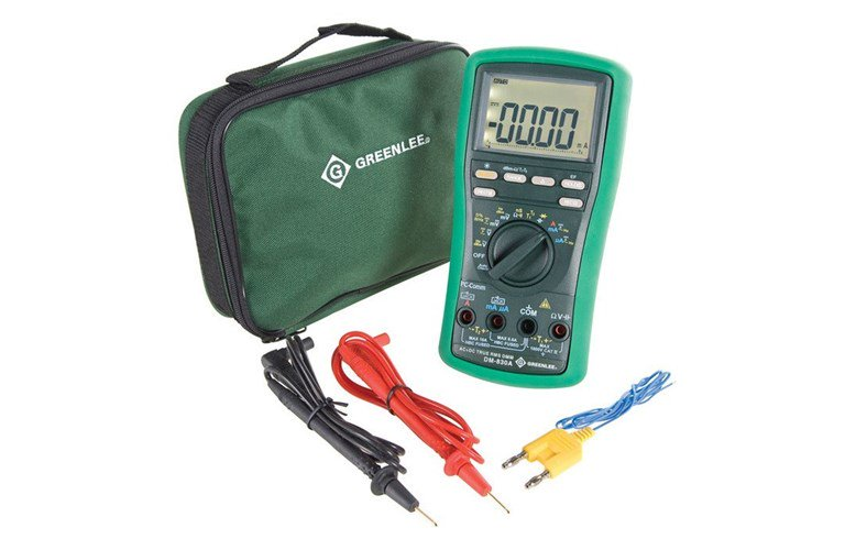 greenlee dm 200 multimeter manual