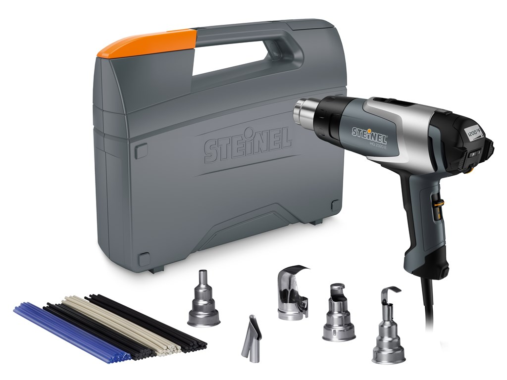 steinel hg2320e professional heat gun multi purpose kit catalog 110051534 tequipment net. Black Bedroom Furniture Sets. Home Design Ideas