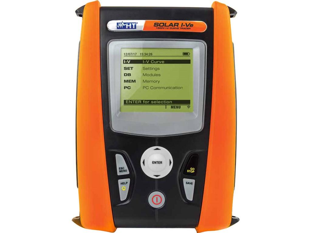 Ht Instruments Solar I Ve 1500v Single Phase Installation Open Short Circuit Tracer Efficiency Tester And V