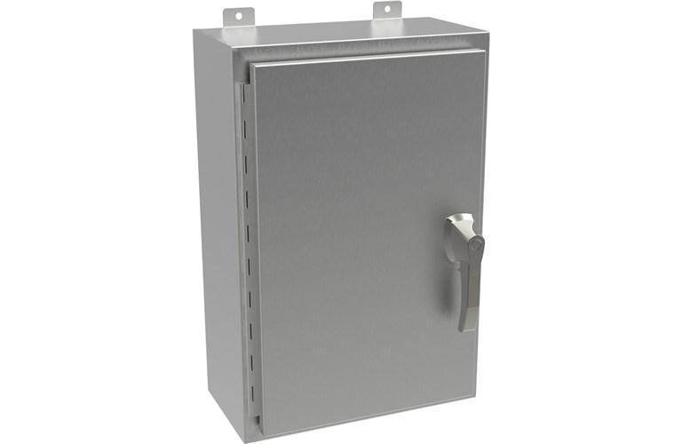 Hammond Type 4X Stainless Steel Wallmount Enclosure HWSSHK Series