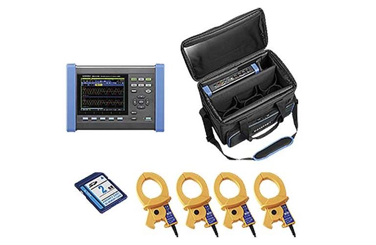 hioki pq3100 02 power quality analyzer type power quality 3 rh tequipment net