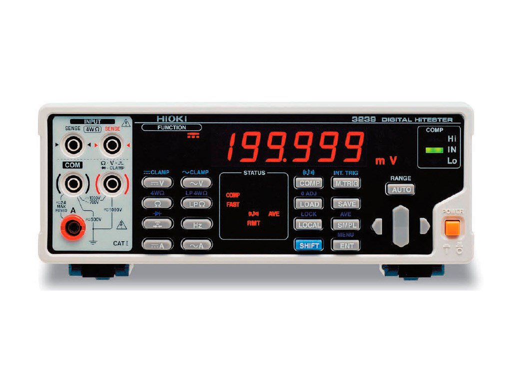 Hioki 3239 Digital Hitester Multi Meter Santronics Ac Dc Voltage Detectors Quickly Test For Energized Circuits Hi Tester