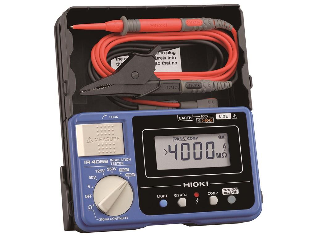 Hioki Ir4056 20 Digital Meg Ohm Insulation Tester Check Circuit For 3 Wire 125v Ac Circuits Meter
