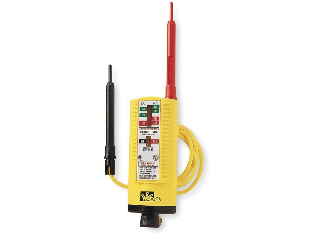 Ideal 61 076 Vol Con Tester Santronics Ac Dc Voltage Detectors Quickly Test For Energized Circuits