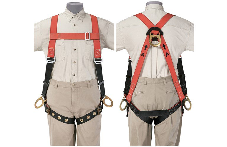 Klein_87145_Fall-Arrest_Positioning_Harness