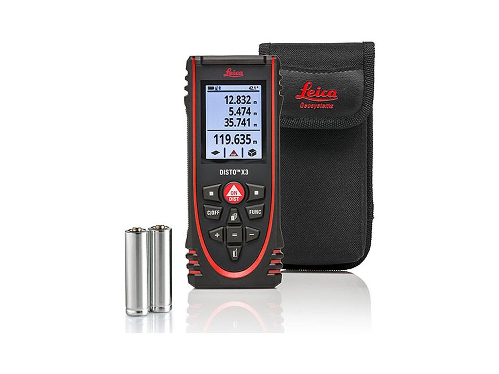 leica disto x3  Leica DISTO X3 - Laser Distance Meter | TEquipment