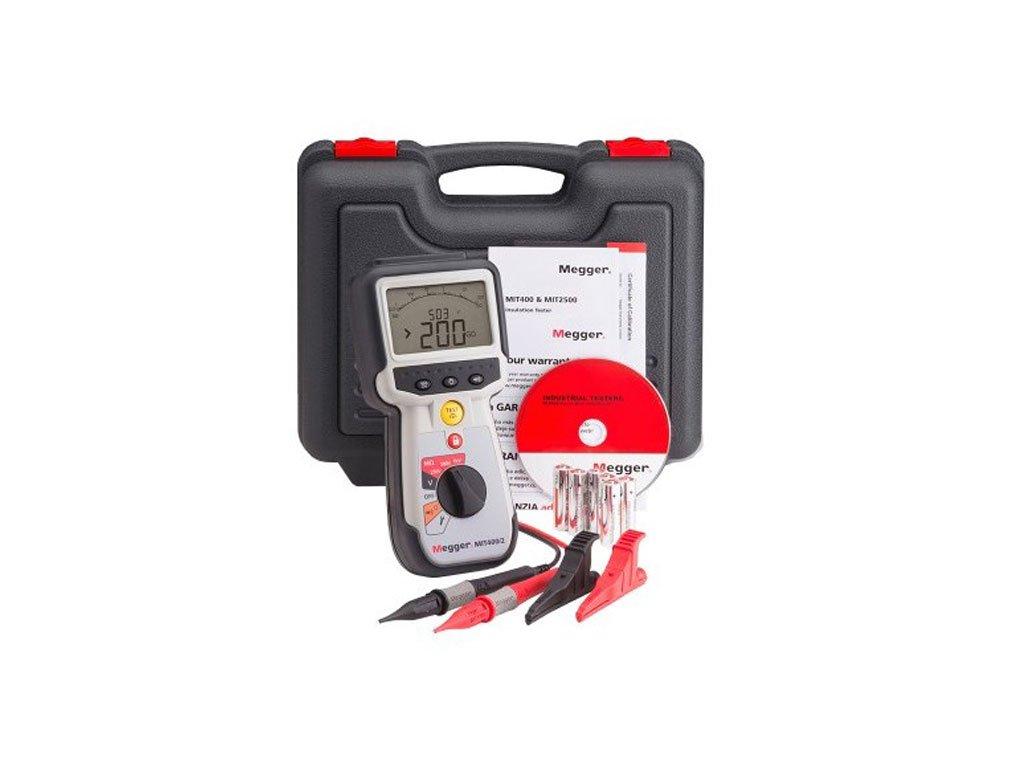 Megger Mit410 2 50v 100v 250v 500v 1000v 600v Cativ Insulation And About Ac Voltage Detector 90v To Electrical Live Circuit Tester