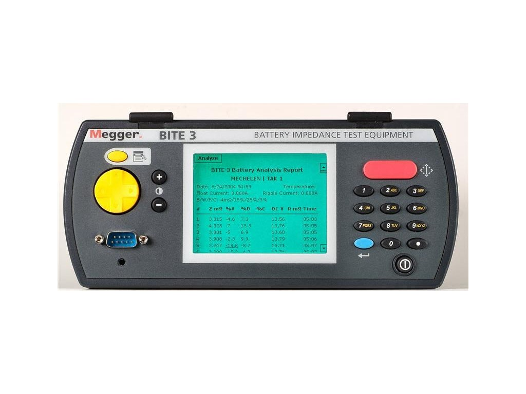 Battery Impedance Tester : Megger bite test equipment battery impedance tequipment