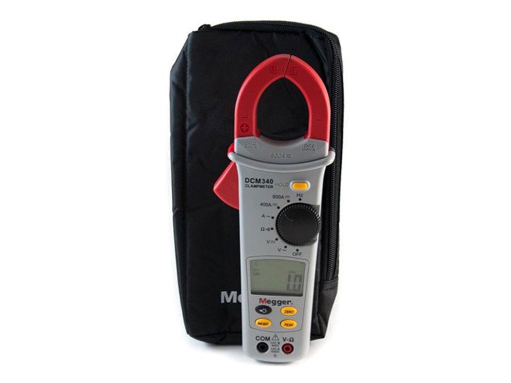 Megger Dcm340 En 600a 600 V Ac Dc Clamp Multimeter Santronics Voltage Detectors Quickly Test For Energized Circuits Zoom