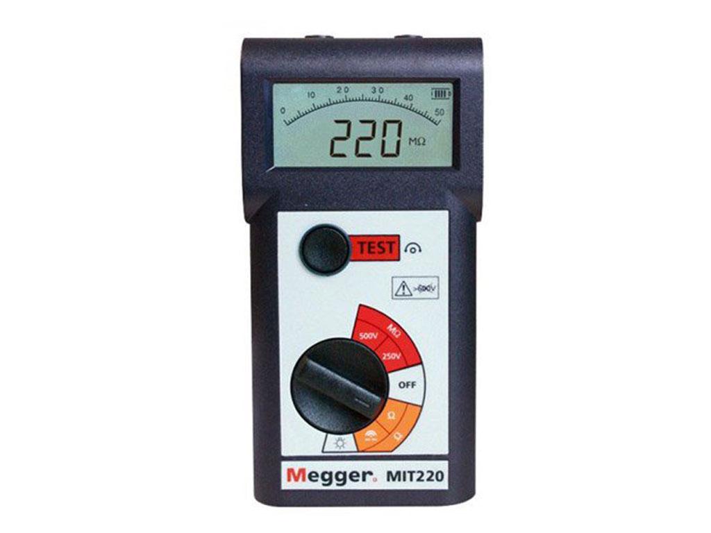 Megger MIT220-EN 250V/500V Digital/Analog Insulation and Continuity ...