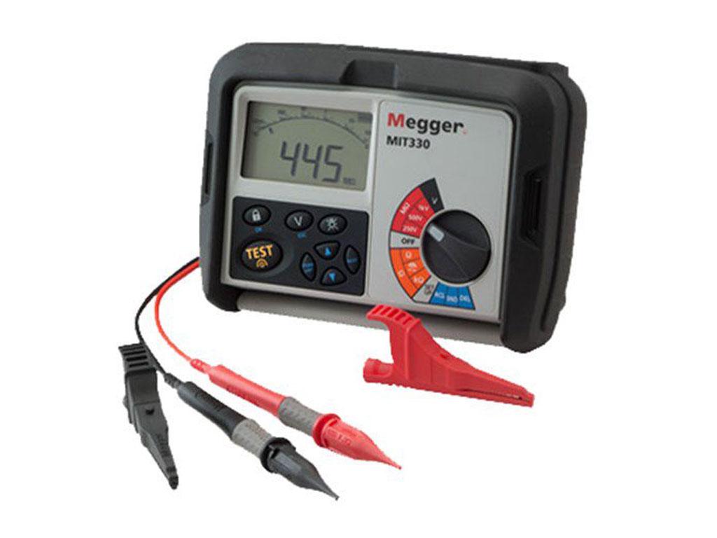 Megger Mit310 En 250 500 And 1000 V Analog Digital Monarch Lift Pump Motor Schematics Mit300 Insulation Continuity Testers