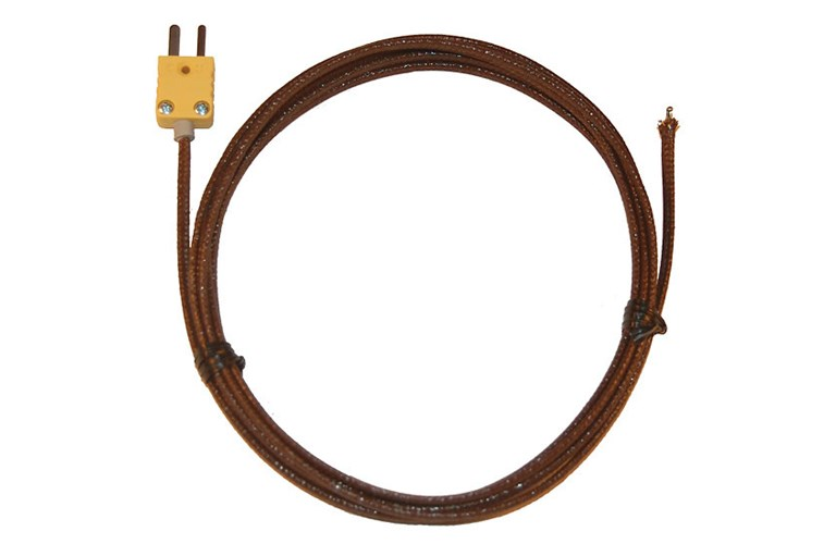 Flexible Thermocouple Cable : Oakton wd gauge fiberglass insulated flexible