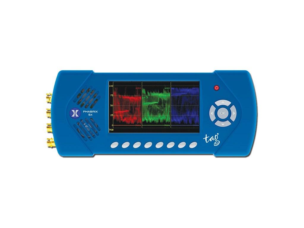 Phabrix Phsxtagc Ip Tag Analyzer Generator Monitor Rbvhda8 3g Hd Sdsdi 1 Input 8 Output Video Distribution Amplifier Sx