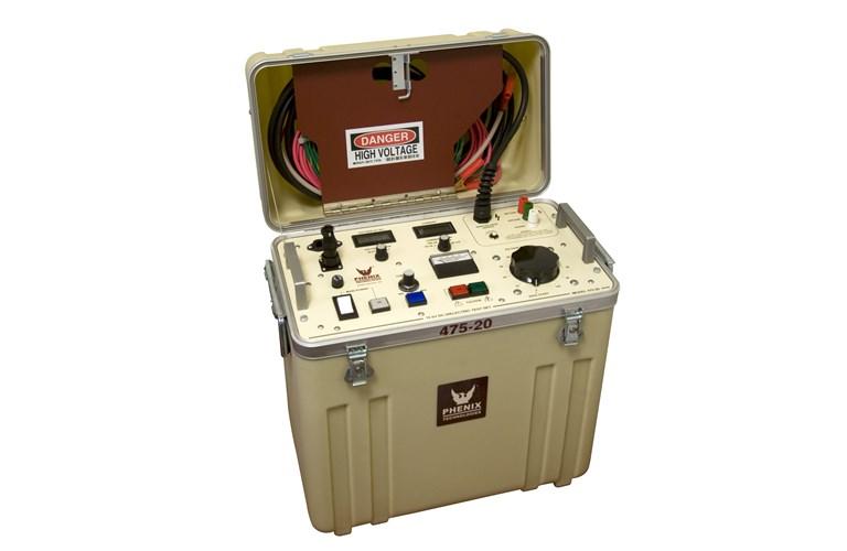 Phenix 475 20 Portable 75kv 20ma Dc Hipot Tequipment Net