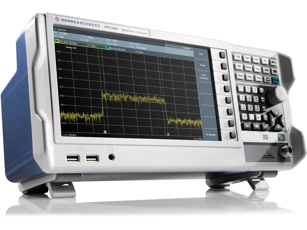 3GHz Spectrum Analyzer - R&S® FPC1000 - Review | element14