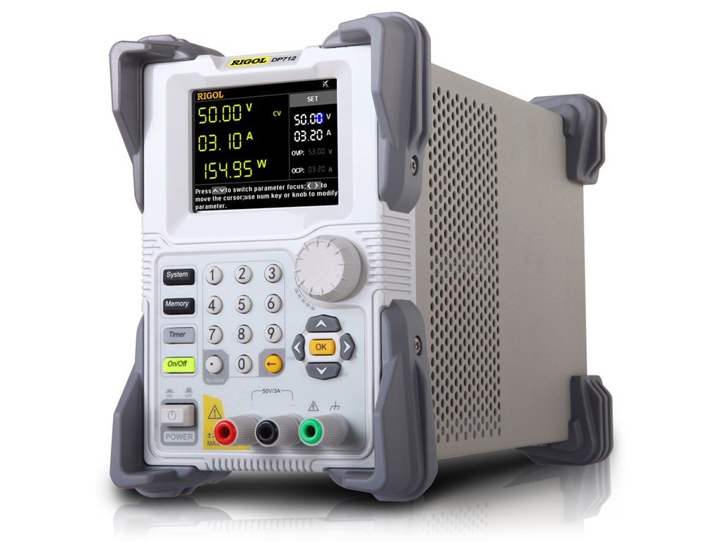 Rigol Dp712 Dc Power Supply Programmable Linear Single Channel 50 01v To 50v Variable