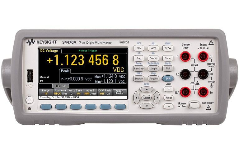 Agilent Digital Multimeter : Agilent keysight digital multimeters tequipment