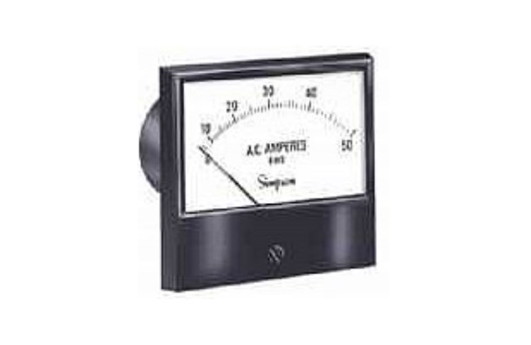 Simpson Panel Meter : Simpson panel meter tequipment