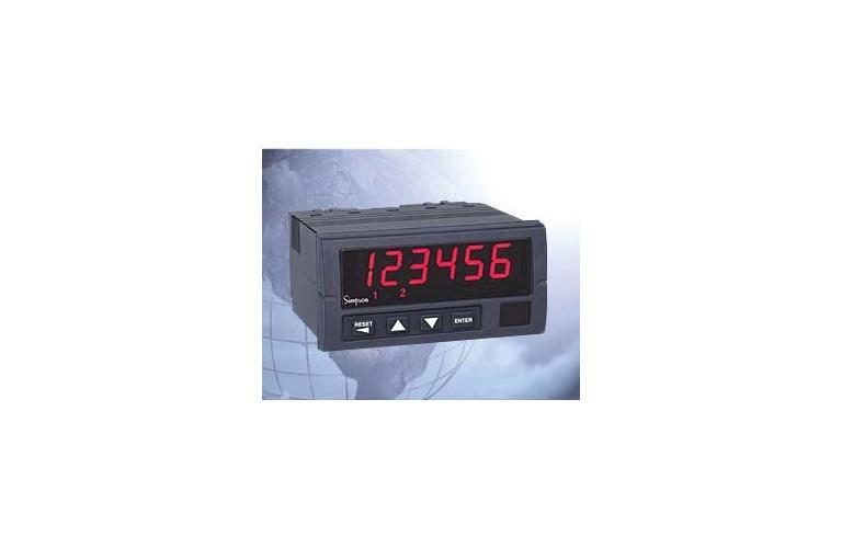 Simpson Digital Panel Meters : Simpson h temperature digital panel meter