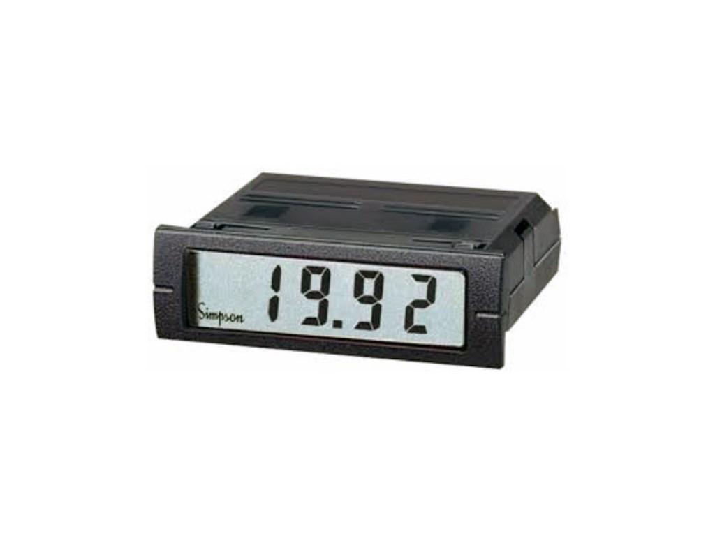 Simpson Panel Meter : Simpson m panel meter tequipment