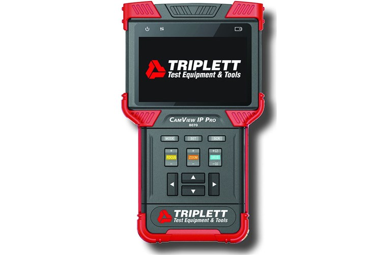 Triplett 8070 CamView IP Pro Camera Tester with Built-In DHCP Server