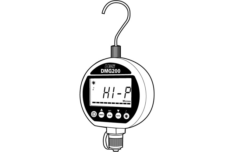 uei dmg200 digital micron gauge