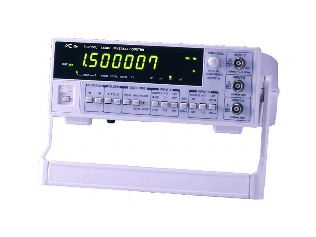 Unisource Fc 8150u 15ghz Universal Counter Basic Tachometer Circuit Using An Ir Led Receiver Couple