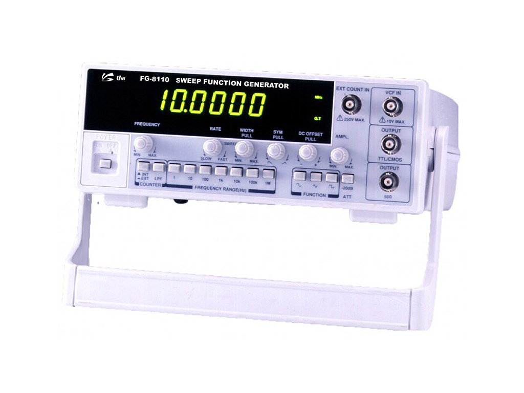 Unisource Fg 8110 10mhz Sweep Function Generator Four Digit Frequency Counter Meter Ttl Cmos Schematic